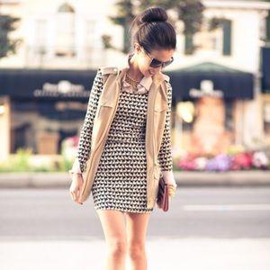 ASO Bloggers H&M Bunny Print Bodycon Dress Size 12